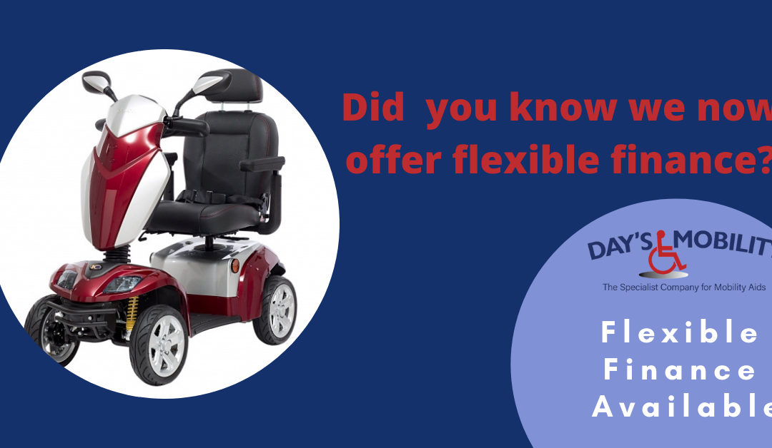 We Now Offer Flexible Finance Options